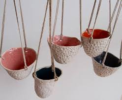 Hanging Ceramic Planter by Ceramic Handmade Hanging Planter Pots By Kabinshop