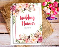wedding organizer etsy your place to buy and sell all things handmade
