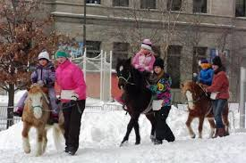 pony express rides paul winter carnival