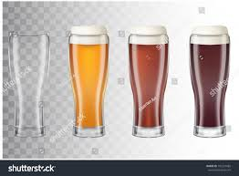 clinking glasses emoji set realistic tall beer glasses different stock vector 701247685