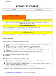 Sample Forklift Operator Resume by Welder Resume Skills