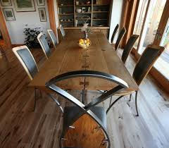 reclaimed wood dining table nyc fine woodworking design gallery pioneer millworks