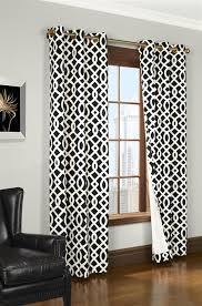 Black And White Thermal Curtains Black And White Curtain Designs 100 Images Gotcha Black And