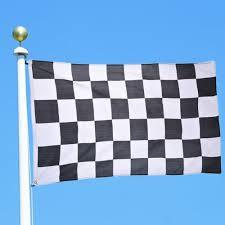 Blue White And Black Flag 90 150cm 3 5ft Checkered Lattice Plaid Racing Flag Racing