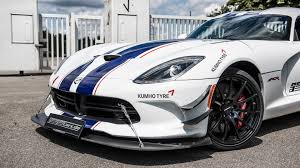 Dodge Viper Acr Specs - dodge viper acr tuned to 765 horsepower in germany