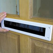 Fireplace Draft Excluder B U0026q Pvc U0026 Brush Letterbox Draught Excluder L 279mm Departments