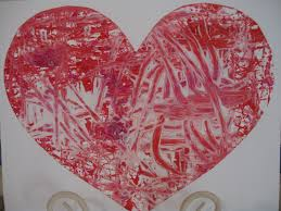 play valentine u0027s day marble painting play eat grow