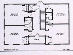 2 Bedroom Ranch Floor Plans Finest Two Bedroom House Plans Myonehouse Net