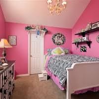 girls bedroom minimalist pink zebra bedroom decoration using