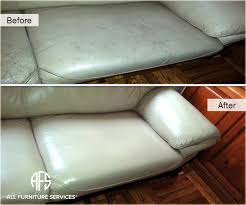 Leather Sofa Dyeing Service Gallery Before After Pictures All Furniture Services Part 20