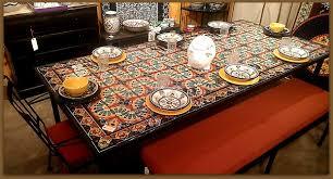 delightful ideas mosaic dining tables furthur wholesale mosaic