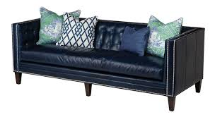 Home Decorators Gordon Sofa Sapphire Blue Leather Sofa From Massoud Me Like Y Pinterest