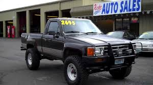 toyota truck dealerships 1988 toyota 4x4 sold youtube