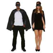 superhero black fancy dress costume unisex fancy dress costumes