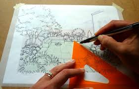 tips from a landscape designer garden perspective drawing for the
