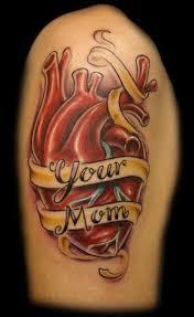 fashion female and have fun mom tattoos