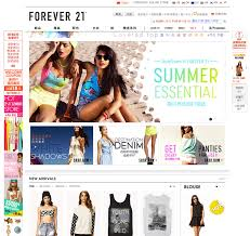 forever 18 online shop study how does forever 21 thrive on e commerce with tmall