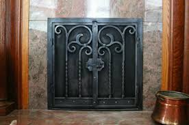 wrought iron fireplace screens u2013 mather u0026 sullivan architectural