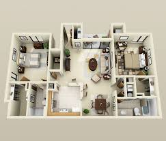 Two Bedroom House Plans by 50 Two