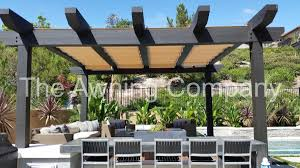 Pergola Shade Covers by Slide On Wire The Awning Company