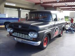 1985 Ford F100 1960 Ford F100 Panel Wagon By Mister Lou On Deviantart