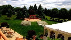 wedding venues outdoor arbor outdoor wedding venues eagle crest hotel golf resort