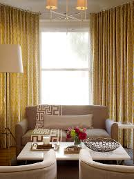 Creative Curtain Hanging Ideas Creative Ideas Yellow Curtains For Living Room Interesting Design