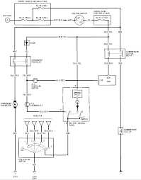 reliable wiring schematic for ac heat blower motor system honda