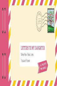 letters to my daughter by lea redmond 9781452153827