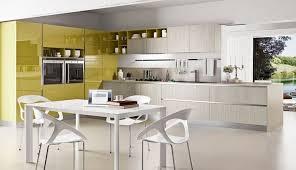 cuisine moutarde idée relooking cuisine modèle de cuisine moderne en bois et