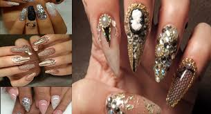 superb 30 acrylic nail artwork designs style one web