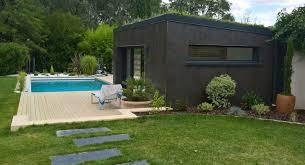 construction cuisine d été création d un pool hoouse contemporain et cuisine d été a blagnac