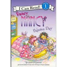 fancy nancy pajama day read along aloud story book for children