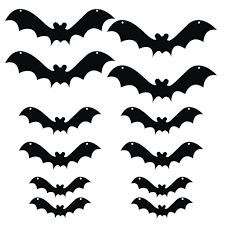 halloween softball background halloween yard decoration scary hanging bats victorystore com