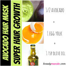 avocado hair mask recipes for luxurious hair beautymunsta