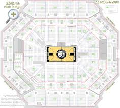 pepsi center floor plan barclays center brooklyn nets concerts seat numbers detailed