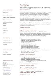 Maintenance Job Resume by Download It Support Resume Haadyaooverbayresort Com