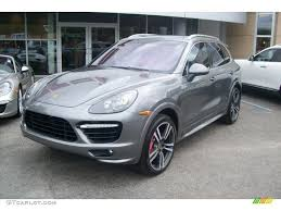 2012 Porsche Cayenne - 2012 meteor grey metallic porsche cayenne turbo 64157918 photo 3