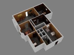 Floor Plan 3d Office 3d Floor Plan Cgtrader