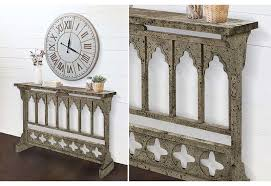 Wood Console Table Wood Console Table Arched Console Table French Arched Console
