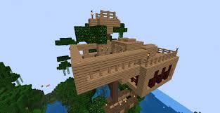 Pictures of Coolest Minecraft Treehouse  kidskunstinfo