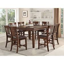 9pc dining room set member s mark carter 9 piece counter height dining set sam s club