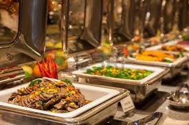 buffet restaurant the hotel restaurant stock photo picture and
