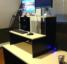 Diy Standing Desk by Desk Stand Up Desk Extension Nz Standing Desk Extender Diy