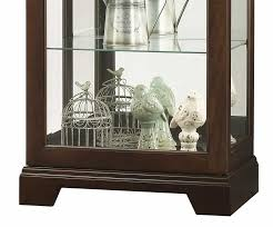 680577 howard miller seven levels display contemporary curio cabinet