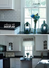 Budget Backsplash Ideas by Diy Subway Tile Backsplash