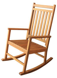 Furniture Awesome Light Brown Cherry Wood Rocking Chair For - Wooden rocking chair designs