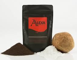 amazon com alexa organic kona coffee scrub with dead sea salt