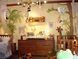 Safari Themed Nursery Decor Staggering Baby Room Jungle Theme