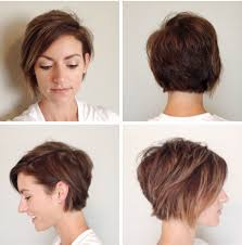 front and back views of chopped hair best 25 long pixie cuts ideas on pinterest long pixie hair